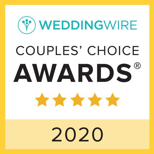WeddingWire Couple's Choice Award 2020
