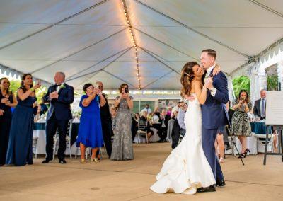 Rachel And Joe Dancing At Wedding.