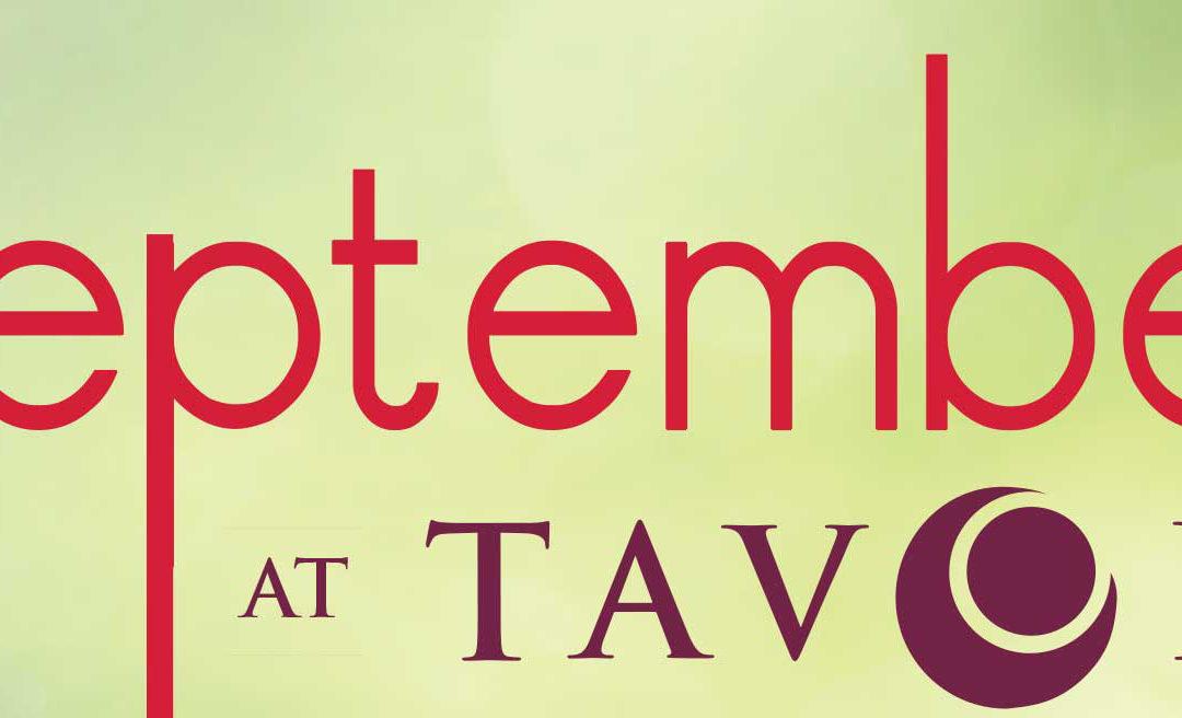 September Entertainment at Tavola Restaurant + Bar